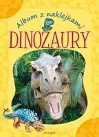 Album z naklejkami. Dinozaury Bator Agnieszka