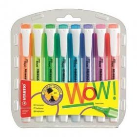Zakreślacze Stabilo Swing Cool, etui 8 kolorów