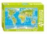 Puzzle edukacyjne 260 Zwierzęta świata Mapa młodego odkrywcy  (8308)