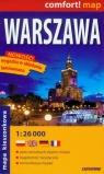 Warszawa 1:26 000 kieszonkowy plan miasta