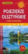 Pojezierze Olsztyńskie część południowa mapa turystyczna 1:50 000