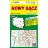Plan miasta Nowy Sącz Wydawnictwo Piętka