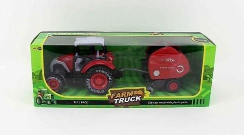 Traktor z maszyną rolniczą 27 cm