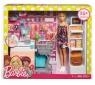 Barbie supermarket zestaw z lalką (FRP01)