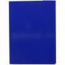 Teczka z szerokim grzbietem na rzep VauPe A4 kolor: niebieski (323/03)
