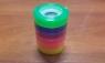 Taśma klejąca kolorowa 6 pak