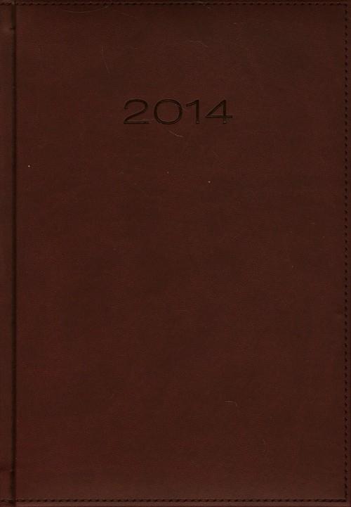 Kalendarz 2014 A5 21DR Bordo dzienny