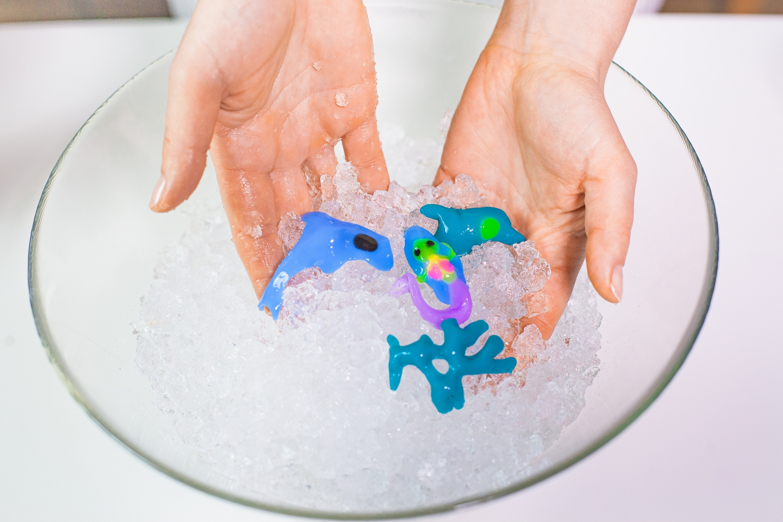 Zestaw Tubi Jelly 6 kolorów + małe akwarium – Syrenka (TU3330)