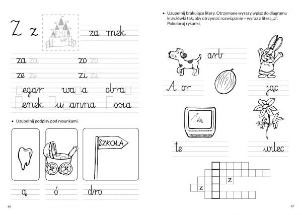 Uczymy się czytać i pisać Klimkiewicz Danuta