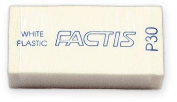 Gumki P-30 białe małe (30 szt) FACTIS