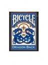 Karty Dragon Blue back BICYCLE