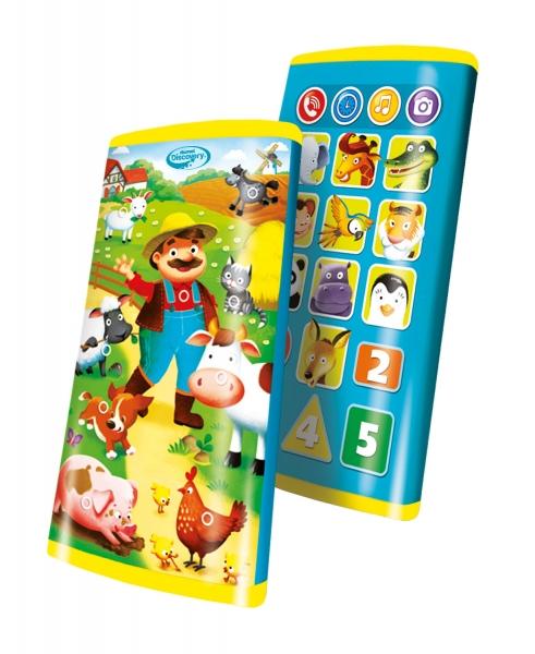 Smartfon edukacyjny - Świat zwierząt (DD80081)