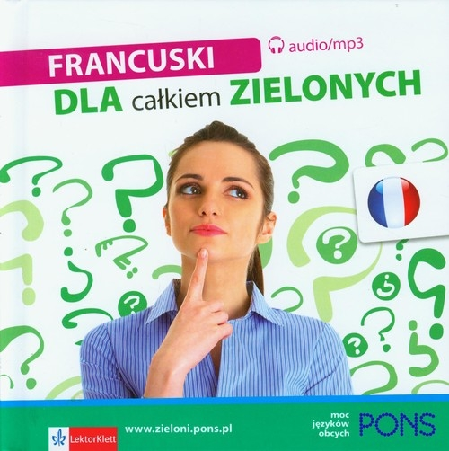 Francuski dla całkiem zielonych + 2CD