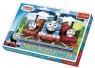 Puzzle 24 elementy maxi Wesołe lokomotywy
