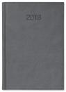 Kalendarz książkowy A4 tygodniowy Vivo szary 2018