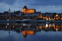 Kartka 3D Toruń, Panorama dzień/noc