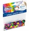 Confetti cekiny Fiorello, kółko - kolorowe