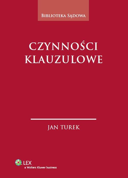 Czynności klauzulowe Turek Jan