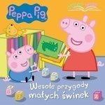 Peppa Pig. Czytajmy razem. Cz.1: Wesołe przygody małych świnek Opracowanie zbiorowe