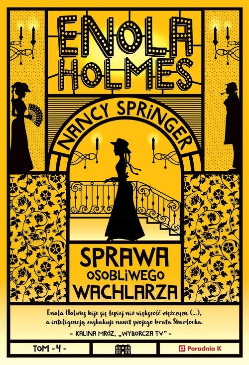 Enola Holmes Sprawa osobliwego wachlarza Springer Nancy