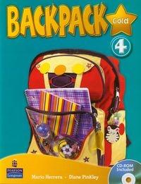 Backpack Gold 4 with CD Herrera Mario, Pinkley Diane