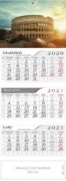 Kalendarz 2021 Trójdzielny Koloseum CRUX