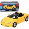 WELLY Porsche Boxter Cabrio, żółte (WE29386)