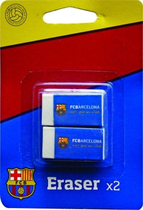 Gumka Barcelona 2 sztuki
