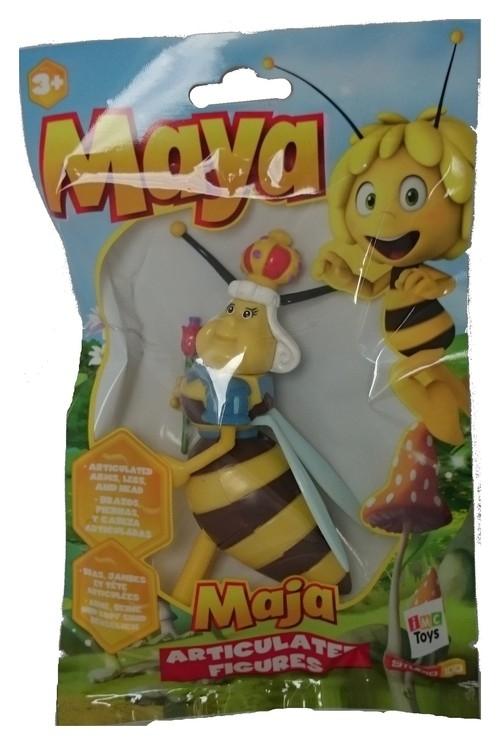 Pszczółka Maja figurka w saszetce Królowa Pszczół