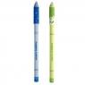 Długopis usuwalny niebieski Buźki 2szt HAPPY COLOR