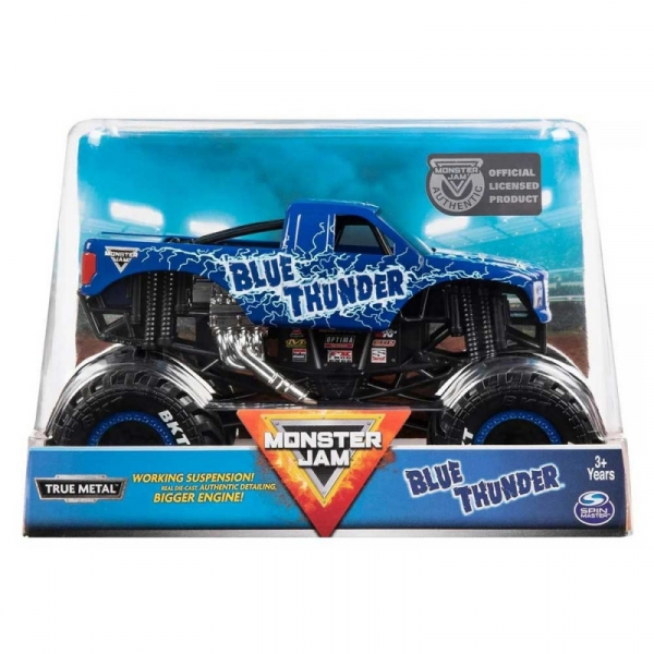 Pojazd MONSTER JAM Auto Warczące opony Blue Thunder (6044869/20105206)