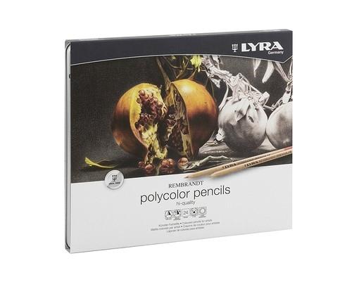 Kredki Lyra Rembrandt Polycolor 24 kolory