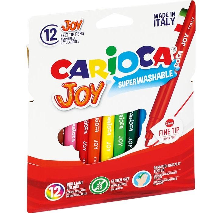 Pisaki Joy Carioca, 12 kolorów (160-1468)