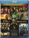 Pakiet - Piraci z Karaibów 1-5 (Blu-ray)