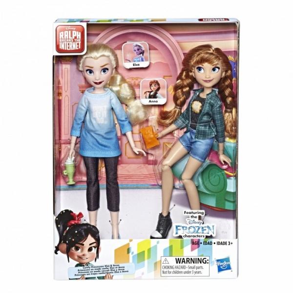 Lalki Disney Princess WIR Elsa i Anna (E7417/E7357)