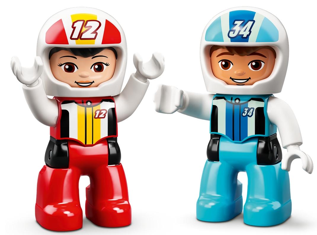 Lego Duplo: Samochody wyścigowe (10947)