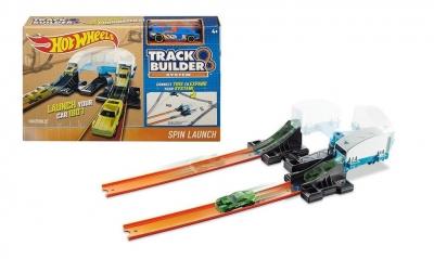 Hot Wheels Track Builder Zestaw Spin launch