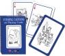 Karty do gry Piatnik 1 talia Wędkarstwo w karykaturze
