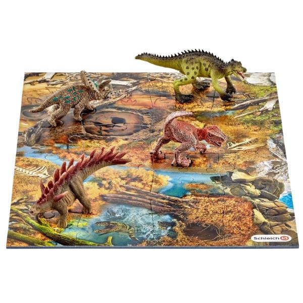 Dinozaury z puzzlami, Bagna (42331)