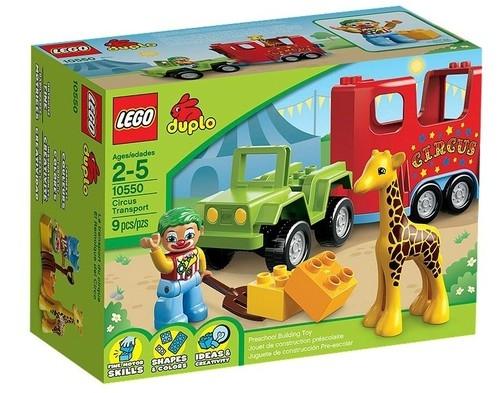 Lego Duplo Pojazd cyrkowy (10550)