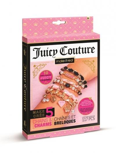 Make it Real Zestaw do tworzenia bransoletek Juicy Mini Chains & Charms
