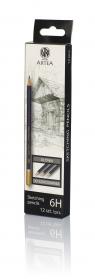 Ołówek do szkicowania 6H Artea 12 sztuk