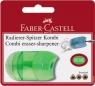 Temperówka Combi Mini z Gumką Blister Faber-Castell