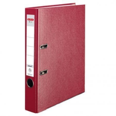 Segregator A4 5cm PP czerwony Q file