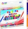 Kredki ołówkowe trójkątne Carioca BiColor 24/48 kolorów