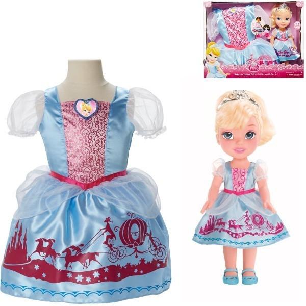 JAKKS Kopciuszek+sukienk a dla dziewczynek out 20 (86831)
