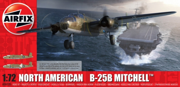 Model plastikowy North American B25B Mitchell Doolittle (06020)