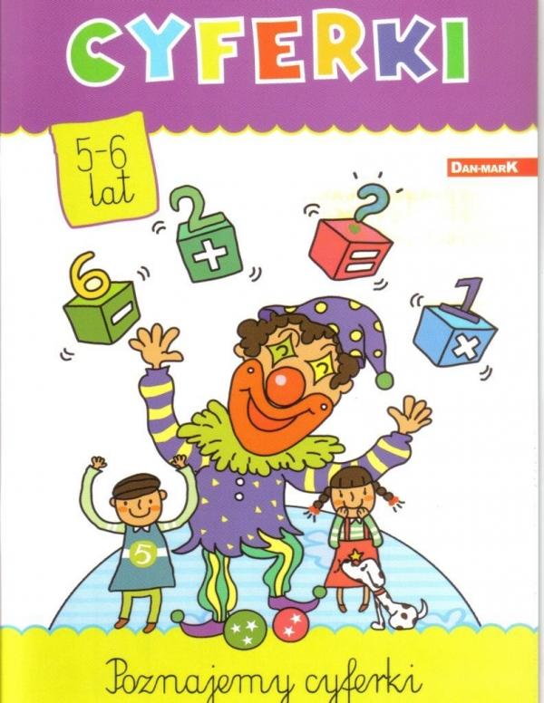Książeczka edukacyjna. Cyferki praca zbiorowa