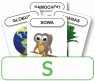 Karty: Logopedyczny Piotruś - Część V, głoska S