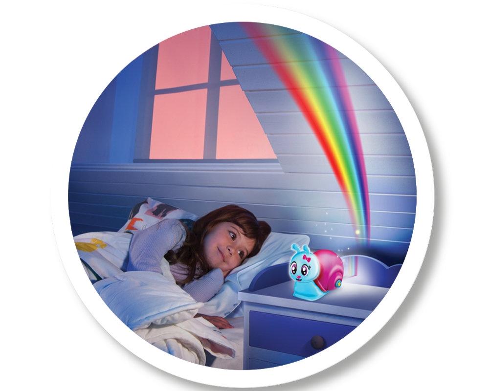 Luminki: Świecący przyjaciele - Ślimaczek - projektor ze światłem i dźwiękiem (EP04131)